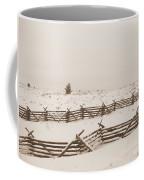 Winter Fence In Oregon Coffee Mug