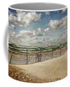 Winter Fences In Grand Haven 2.0 Coffee Mug