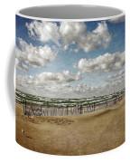 Winter Fences In Grand Haven 3.0 Coffee Mug
