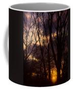 Winter Forest Sunrise Coffee Mug