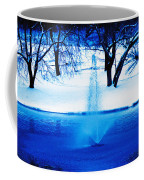 Winter Fountain 2 Coffee Mug