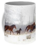 Winter Gallop Coffee Mug