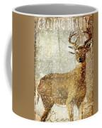 Winter Game Deer Coffee Mug