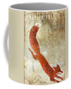 Winter Game Fox Coffee Mug