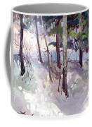 Winter Garden Plein Air Coffee Mug