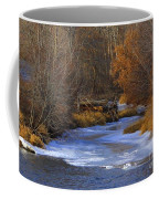 Winter Gold On The Yakima River Coffee Mug