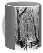 Winter, Ham Burn, Whitley Mill Coffee Mug