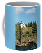 Winter Harbor Lighthouse Coffee Mug