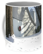 Winter Holiday At The Farm. Coffee Mug