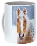 Winter Horse Portrait Coffee Mug