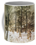 Winter In Kensington Gardens Coffee Mug