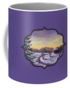Winter In Vermont Coffee Mug by Anastasiya Malakhova