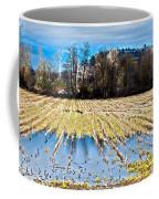 Winter In Washington Fields Coffee Mug