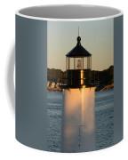 Winter Island Lighthouse At Sunset, Salem, Massachusetts Coffee Mug