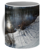 Winter Lake View Coffee Mug