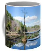 Winter Lake View Coffee Mug by George Randy Bass