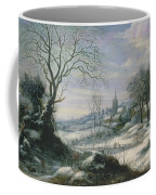 Winter Landscape Coffee Mug by Daniel van Heil
