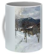 Winter Landscape Near Kutterling Coffee Mug
