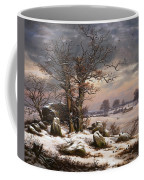 Winter Landscape. Near Vordingborg Coffee Mug