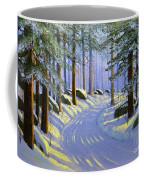 Winter Landscape Study 1 Coffee Mug
