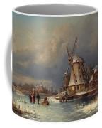 Winter Landscape With Mills Zaardam Coffee Mug