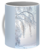 Winter Landscape With Snow-covered Trees Coffee Mug