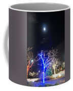 Winter Lights Full Moon Coffee Mug