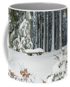 Winter Moments In Harz Mountains Coffee Mug