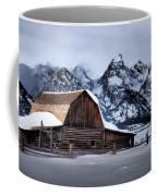 Winter Morning At John Moulton Barn Coffee Mug