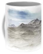 Winter Mountain Peaks Coffee Mug