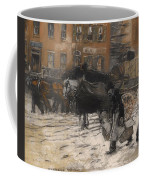 Winter On 21st Street - New York Coffee Mug