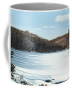 Winter On An Ontario Lake  Coffee Mug