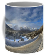 Morant's Curve On The Bow Valley Parkway Coffee Mug