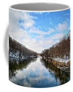 Winter On The Cedar Coffee Mug
