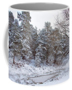 Winter On The Chase Coffee Mug