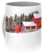 Winter On The Farm Enfield Coffee Mug