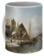 Winter On The Rhine Coffee Mug