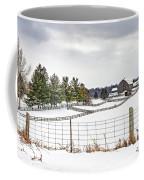 Winter Ontario Farm 3 Coffee Mug