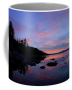 Winter Pastel Sundown Serenity Coffee Mug