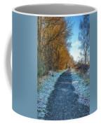 Winter Path In Scotland Coffee Mug