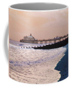 Winter Pier Coffee Mug