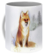 Winter Red Fox Coffee Mug