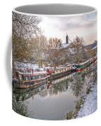 Winter Reflections On The River Coffee Mug