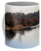 Winter Riverbank Coffee Mug