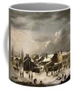 Winter Scene In Brooklyn Coffee Mug