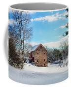 Winter Scene On A Pennsylvania Farm Coffee Mug