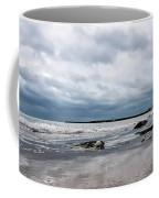 Winter Seascape 2 - Lyme Regis Coffee Mug