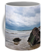Winter Seascape - Lyme Regis Coffee Mug