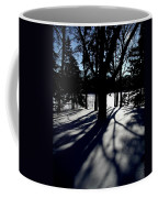 Winter Shadows 2 Coffee Mug