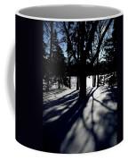 Winter Shadows 2 Coffee Mug